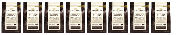 Callebaut products- 811, 823, W2, 703038 – 2.5kg
